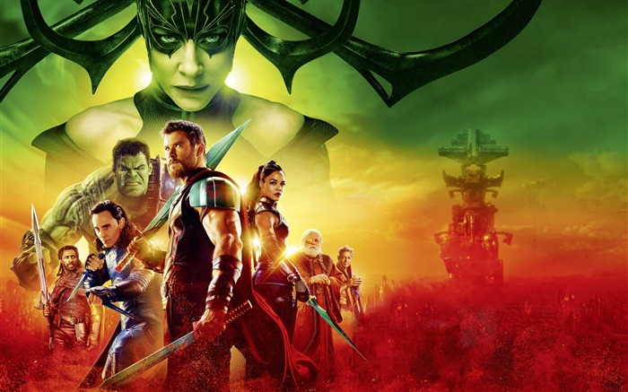 Thor Ragnarok 2017 4k Movie Poster Views:2266