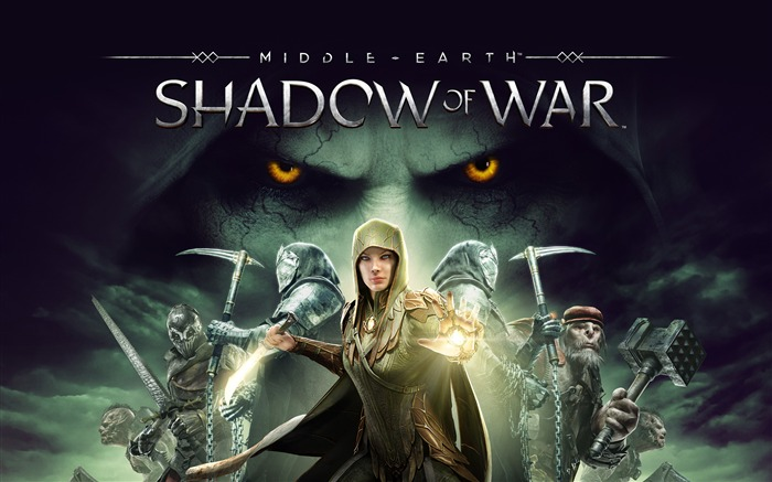 Middle Earth Shadow Of War 2017 Game Views:871