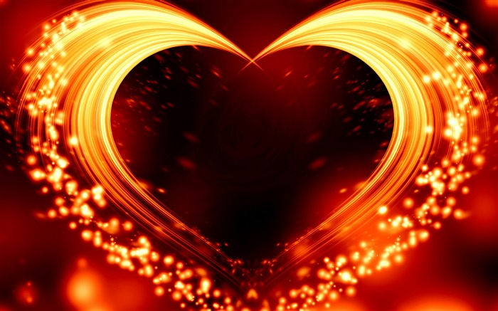 Sparks Love Heart Romantic Valentine Day Views:123