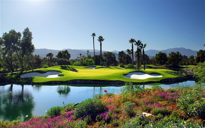Stunning golf course nature landscape Views:307