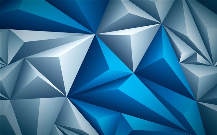 Abstract triangle 3D HD Art Design Views:464