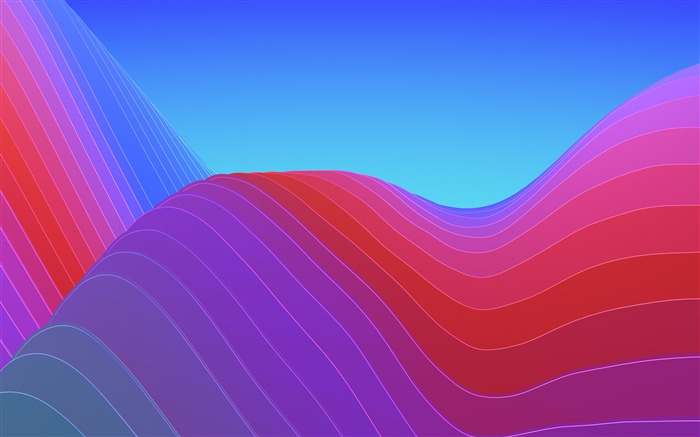 Abstract waves colorful 4k design Views:907