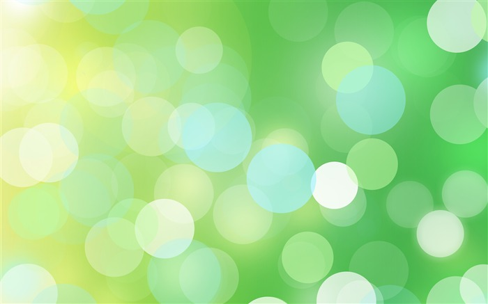 Green Circle Abstract Theme Design Views:1037