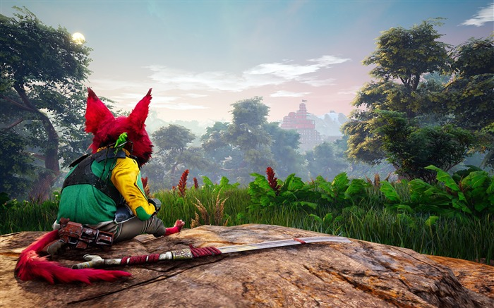 Biomutant 2018 HD Game Poster Views:407