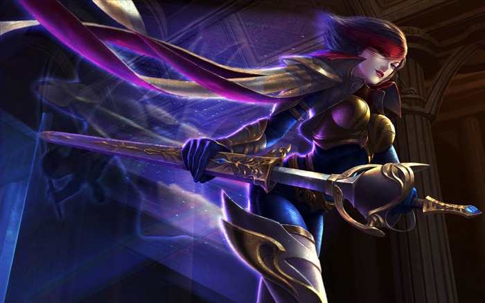 Fiora league of legends Game Poster Views:358