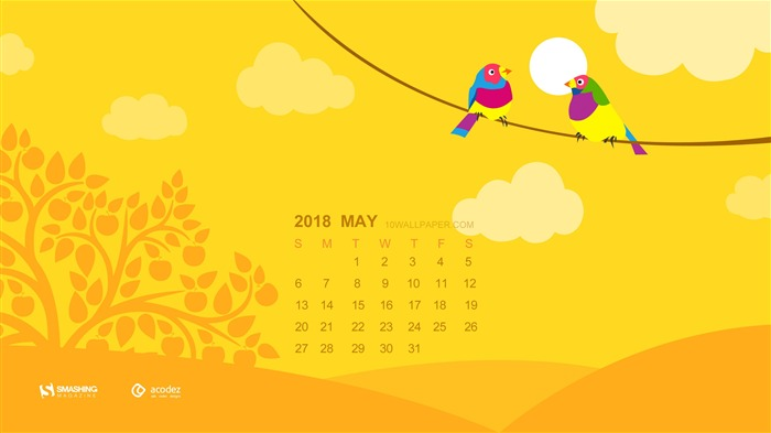 Let us enjoy some fun in the sun May 2018 Calendars Views:950