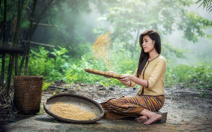 Vietnam jungle farm beautiful women Views:564