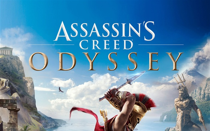 Assassins Creed, Odyssey, 2018, Juego, HD, Cartel Vistas:79