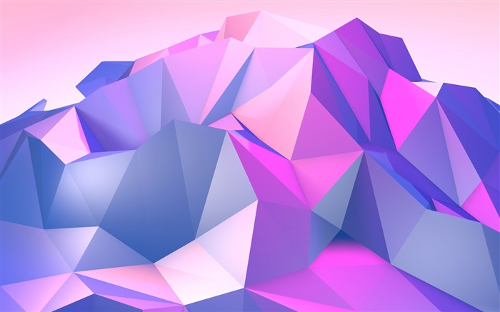 Purple Triangle Geometric Abstract Design Views:70