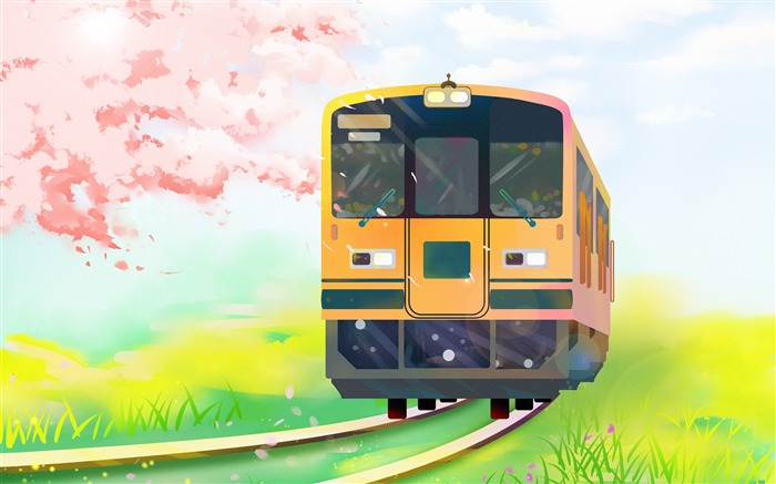 Happy Travel Train Illustration Theme Design Views:3214 Date:11/13/2018 7:18:48 AM