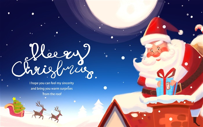 Merry Christmas 2019 New Year Cartoon Theme Views:7204