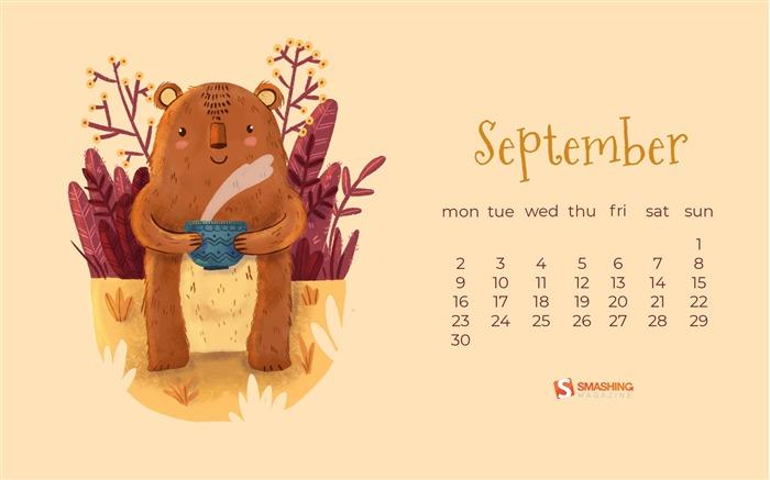 September 2019 Calendars Desktop Theme Album List Page1
