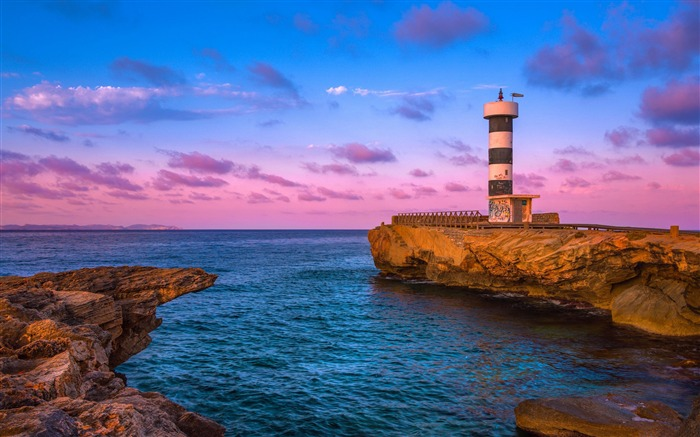 Coast Sunset Lighthouse 2020 Nature Scenery Photography Views:3132 Date:8/1/2020 5:35:11 AM