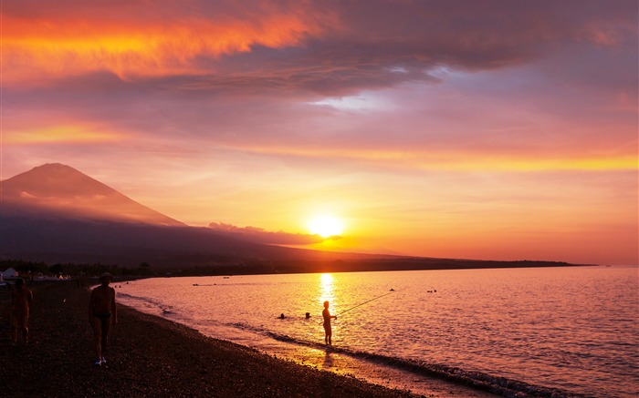 Agung Amed Beach Bali Indonesia 2021 Scenery 4K Photography Views:1211 Date:1/2/2021 10:53:42 PM