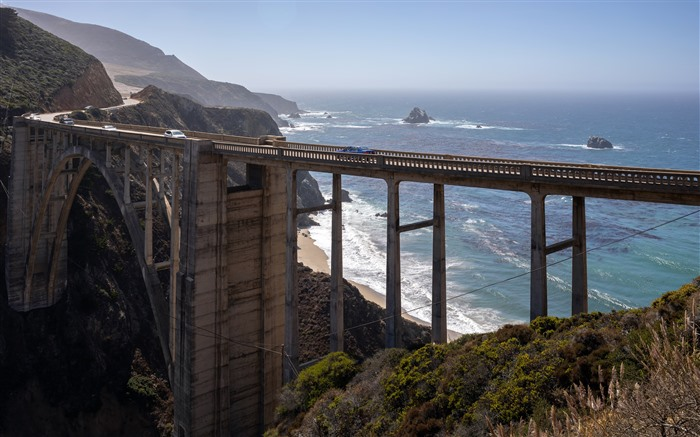 California Highway One Bridge 2021 Travel 5K Photo Views:535