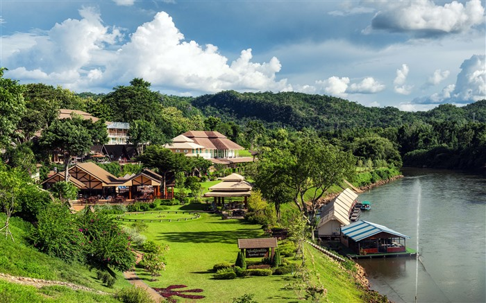 Resorts Kanchanaburi Thailand 2021 Travel 5K Photo Views:743