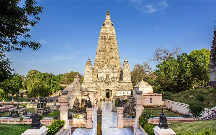 Mahabodhi Temple Bodh Gaya Bihar India 2021 Travel HD Photo Views:1044 Date:4/2/2021 3:36:35 AM