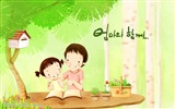 Title:HD Childrens illustration of Mother Day and Family Love Views:26273