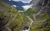 Title:Norway winding rugged mountain road wallpaper Views:26283
