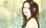 Title:Romantic Illustrations of Sweet Girls in Soft Pastel colors Views:5184