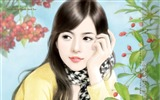 Title:Beautiful Sweet Girls  Beautiful Girls illustrations Views:30372