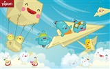 Title:origa miflight cute illustration Wallpaper Views:13936