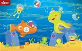 Title:underwater  cute illustration Wallpaper Views:14709