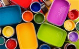 Title:Colorful oil paints in opened paint bucket Views:15993