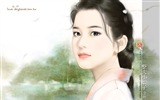 Title:Sweet Charming Faces Sweet Girls Paintings of Romance Novel Covers6 Views:7095