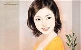Title:Sweet Charming Faces Sweet Girls Paintings of Romance Novel Covers9 Views:3496