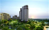 Title:Architectural Renderings of Eco Residential Estates Views:5127