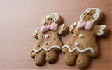 Title:Christmas Gingerbread Man snack wallpaper Views:8050