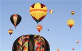 Title:Colorful hot air balloons rising into sky Views:3886