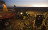 Title:Corn farmer working at down Iowa Views:4449