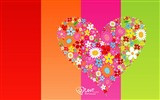 Title:Elated - Valentines Day heart-shaped design wallpaper 03 Views:5703
