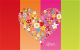 Title:Elated - Valentines Day heart-shaped design wallpaper 05 Views:5569