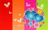 Title:Elated - Valentines Day heart-shaped design wallpaper Views:11736