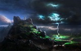 Title:Lightning wallpaper Views:13369