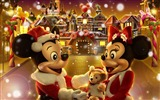 Title:Mickey and Minnie The Gingerbread Man Christmas wallpaper fairy village Views:48620