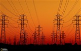 Title:Red sun sets over the Islington Electrical substation in Christchurch Views:17540