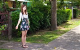 Title:Taiwan beautiful girl fruit wallpaper 02 Views:10366