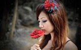 Title:Taiwan beautiful girl fruit wallpaper 11 Views:18537