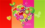 Title:Valentines Day vector design wallpaper Views:20648