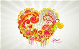 Title:beautiful love - Valentines Day wallpaper illustration design Views:10908