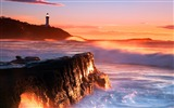 Title:Australia sunrise wallpaper Nora Point Lighthouse Views:12224