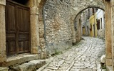 Title:Croatia-Bell wallpaper large cobblestone streets Views:10937
