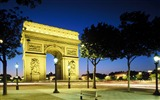 Title:France-Arc de Triomphe at night wallpaper Views:15670