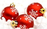 Title:Merry Christmas - Christmas tree decoration ball ornaments Wallpaper 07 Views:60273