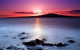 Title:New Zealand-Sunrise on Auckland North Shore with a view of Rangitoto Island 01 Views:5128