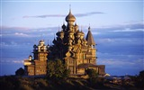 Title:Russia-22 onion roof of the Christian Church wallpaper Views:21758